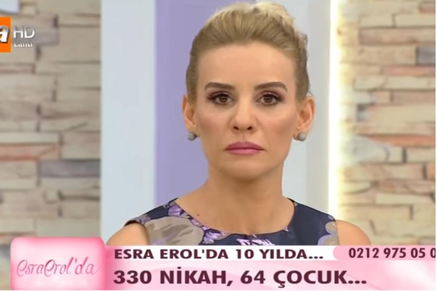 """Esra Erol vidalaşıb ağladı: """"64 uşağı da mən doğmuşam"""""""