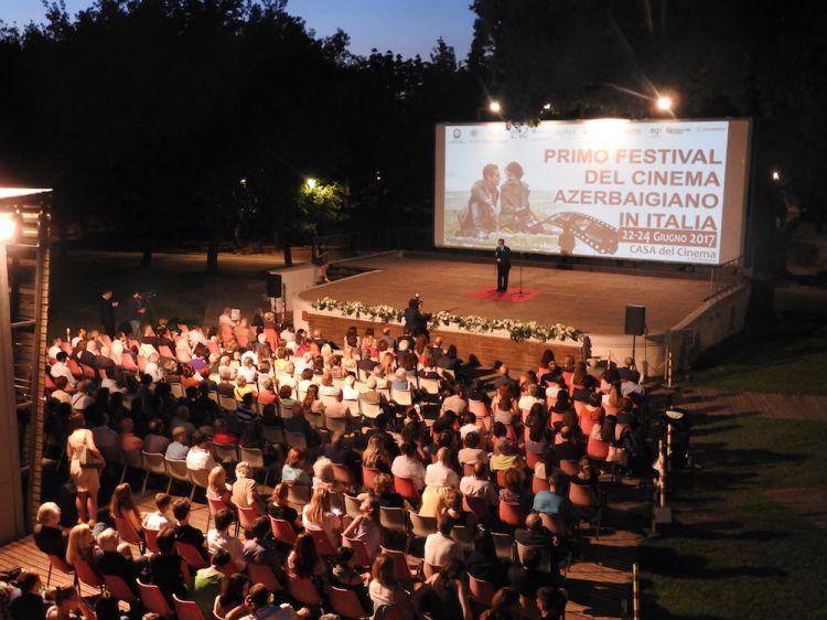 İtaliyada birinci Azərbaycan Film Festivalının açılışı olub - fotolar