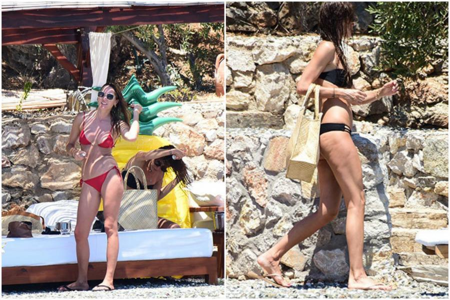 Bikinidə görüntüləndilər - fotolar