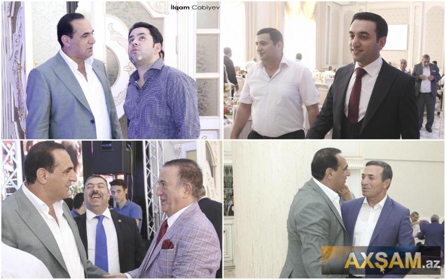 Manaf Ağayevin oğlunun toyudur -  bəydən jurnalistlərə qarşı kobudluq+fotolar