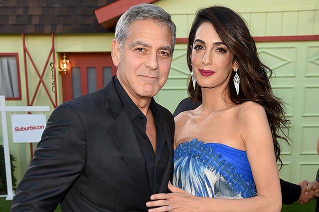 Arvadı Corc Klunini tək qoymadı - fotolar