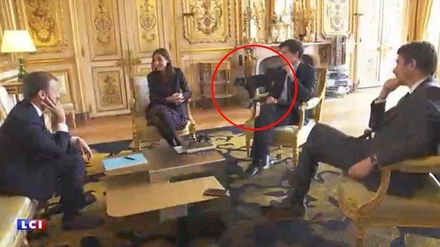 Prezidentin iti toplantını pozdu, hər kəs qəhqəhə çəkdi - video