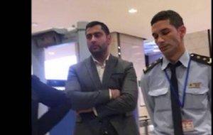 Bakı aeroportunda rejissor və azyaşlı uşaqlarına zülm verdilər - video
