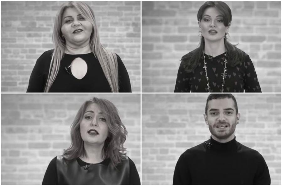 """""""Lider""""in prezidentinin xanımı məşhurları sosial çarxa çəkdi - video"""
