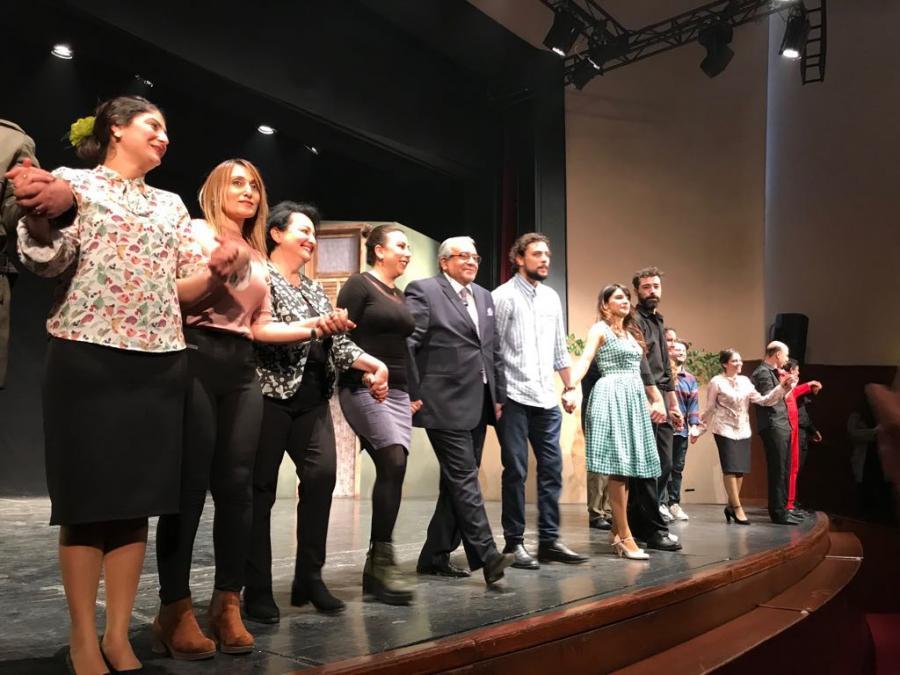 Cahangir Novruzov Adanada yeni tamaşasını təqdim etdi - fotolar