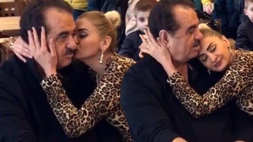 Qadın fanatının öpüşləri Tatlısəsi pis vəziyyətdə qoydu - video