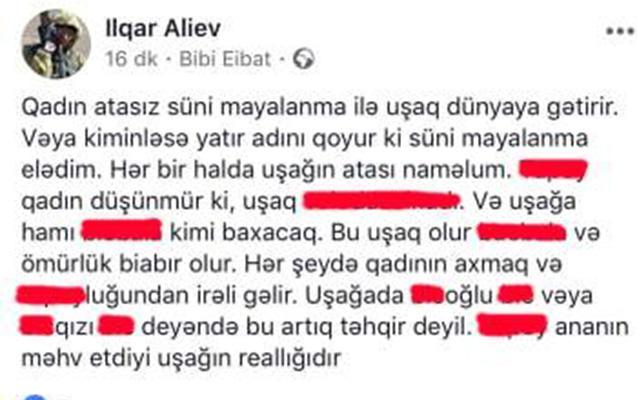 """""""Kiminləsə yatır, adını qoyur süni mayalanma..."""""""