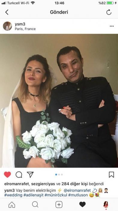 Məşhur müğənni keçmiş sevgilisi ilə Parisdə - FOTO