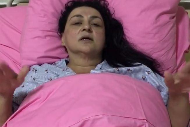 """Xərçəngdən əziyyət çəkən """"Toppuş bacı"""" evə buraxıldı"""