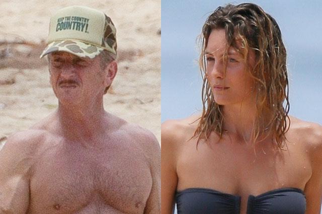 Aktyor özündən 31 yaş kiçik sevgilisi Leyla ilə Havay adalarında