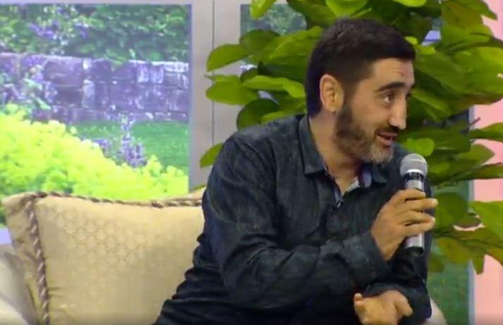 Aydın Xırdalanlının efirdə halı pisləşdi - Video