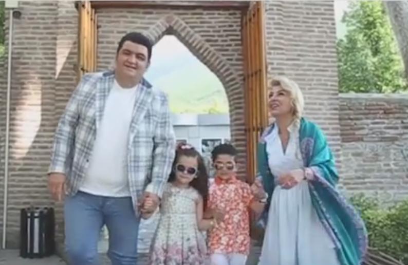 Aşıq Samirə və Əli övladlarını klipə çəkdilər - Video