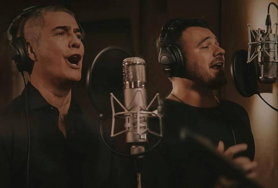 Emin Ağalarov italyan müğənni ilə duet oxudu - Video