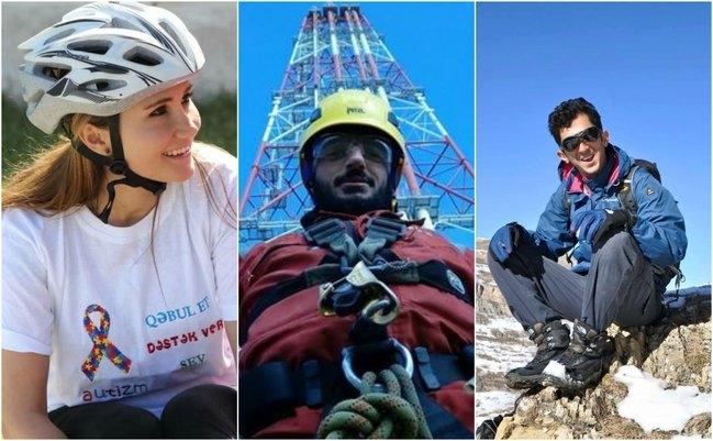 İtkin düşən alpinistlərimizin adı əbədiləşdirildi - Fotolar