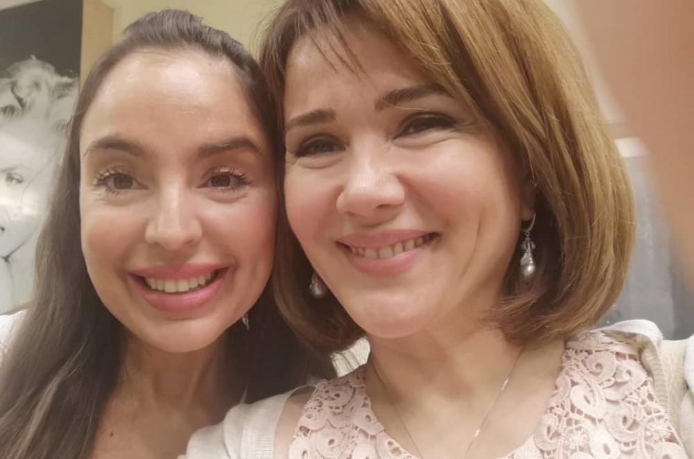 Mehriban Zəki Leyla Əliyeva ilə fotosunu yaydı
