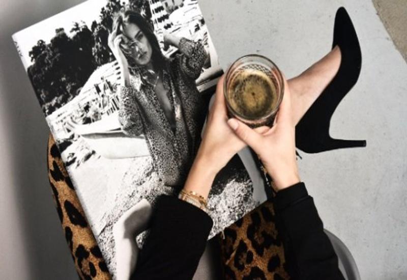 Zərif qadınların seçimi - qara stilettolar+Fotolar