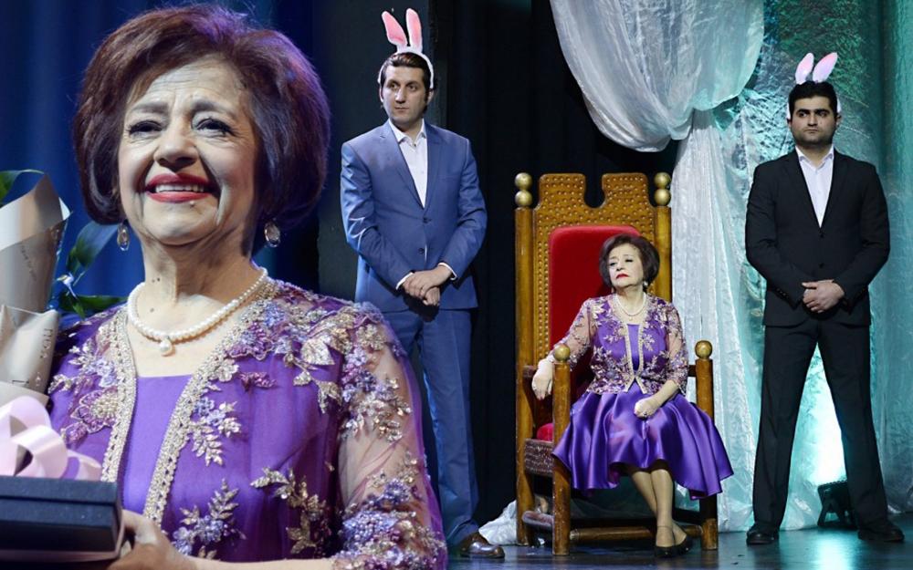 Almaz Mustafayevanın 70 illik yubileyində yaşananlar