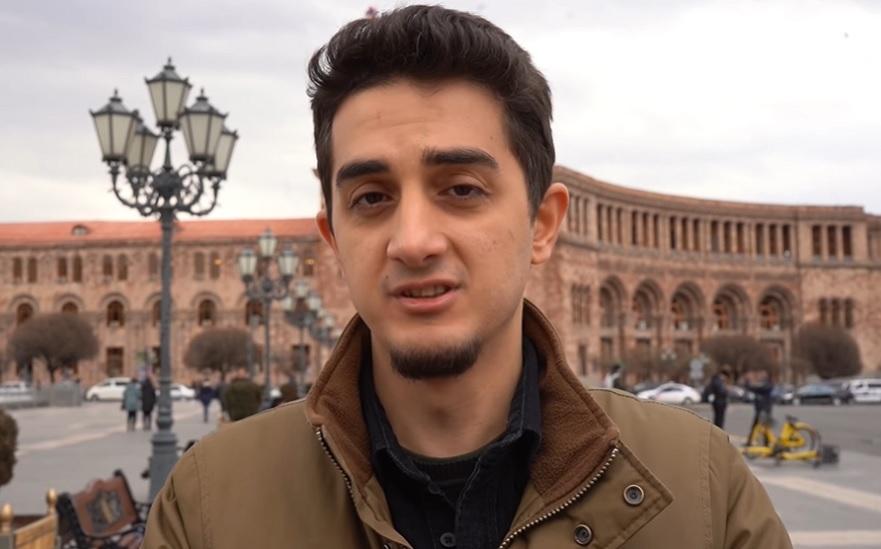Türkiyəli bloqqer Ermənistana gedib Xocalı barədə suallar verdi - Video