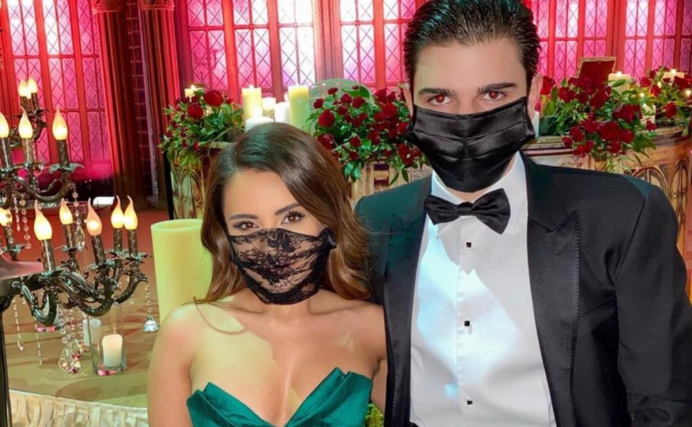 Mədət Quliyevin oğlu toya maska ilə getdi -  Fotolar
