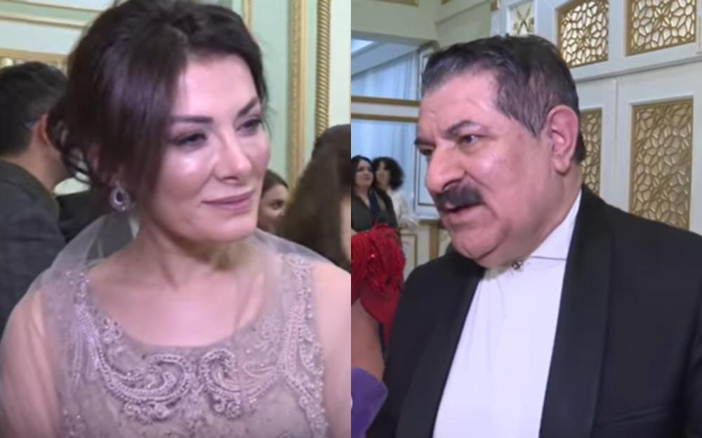 Ağadadaş Ağayev Türkiyəli xanımla evlənibmiş - video