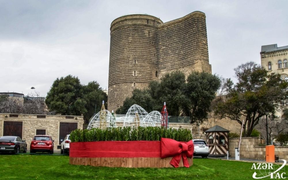 Novruz bayramı ilə əlaqədar paytaxtımız bəzədilib -  Fotolar