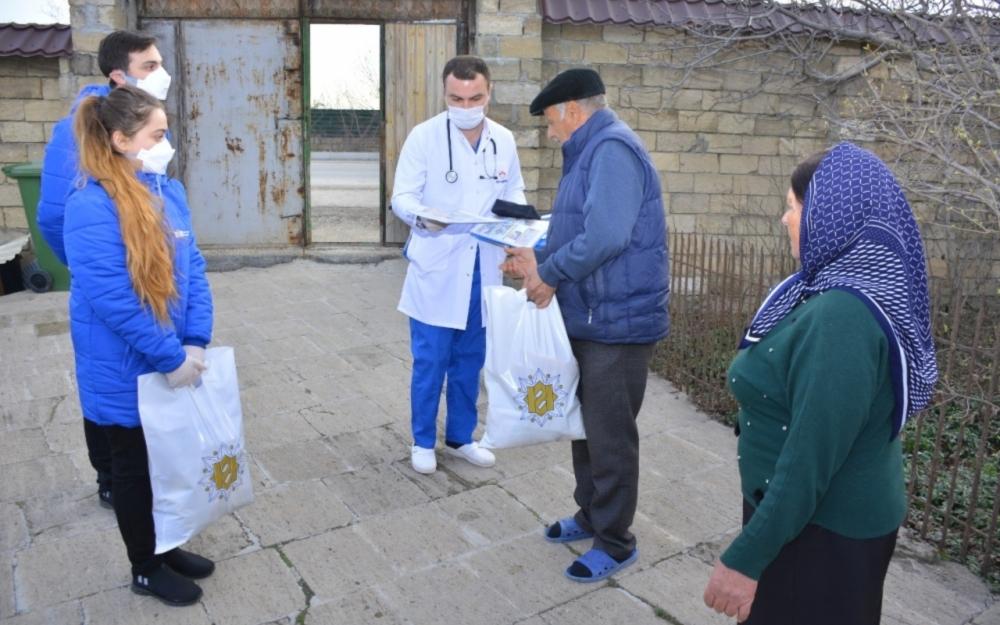 Heydər Əliyev Fondundan yaşı 65-dən yuxarı olanlara yardım -  Fotolar