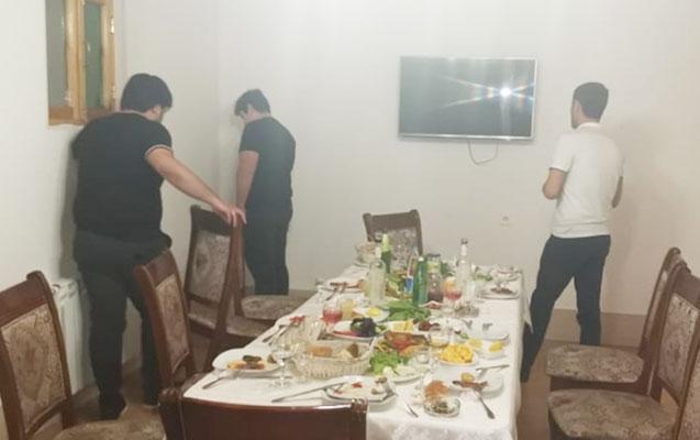 """""""Bulaq"""" restoranının sahibi və müştəriləri saxlanıldı - Video+Fotolar"""