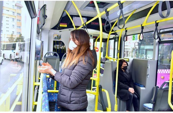 Maska taxmayanlar avtobuslara buraxılmayacaq