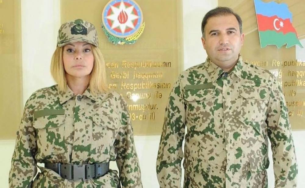 Aygün Kazımova da orduya yazıldı - Fotolar