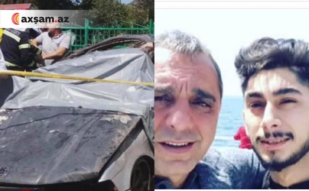 İbrahim Borçalının oğlunun öldüyü qəzadan  fotolar