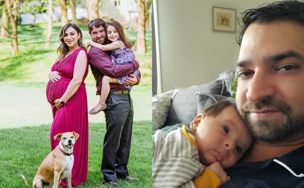 Günel yeni doğulan oğlunun fotosunu paylaşdı