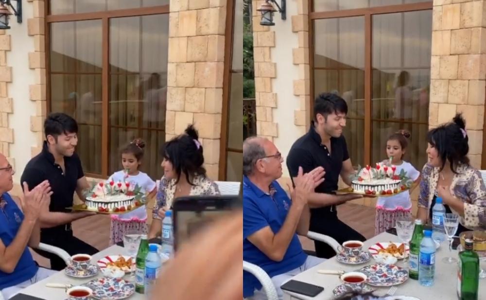 Oğlundan Brilliant Dadaşovaya ad günü sürprizi - Video
