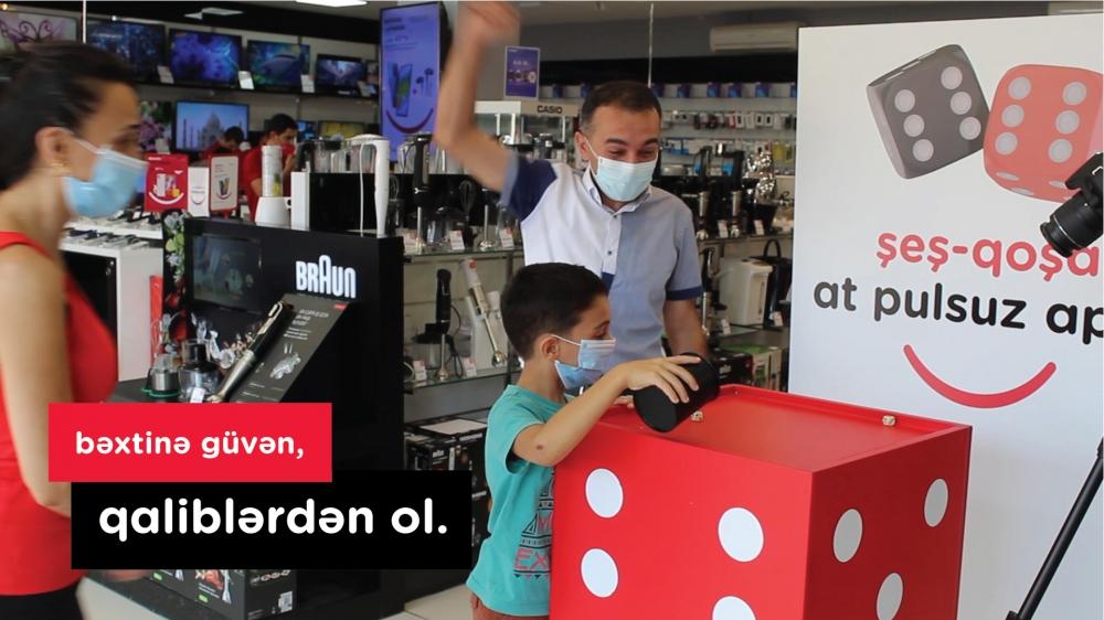 Bu mağazalarda zər atanların əksəriyyəti qalib gəlir -  Video