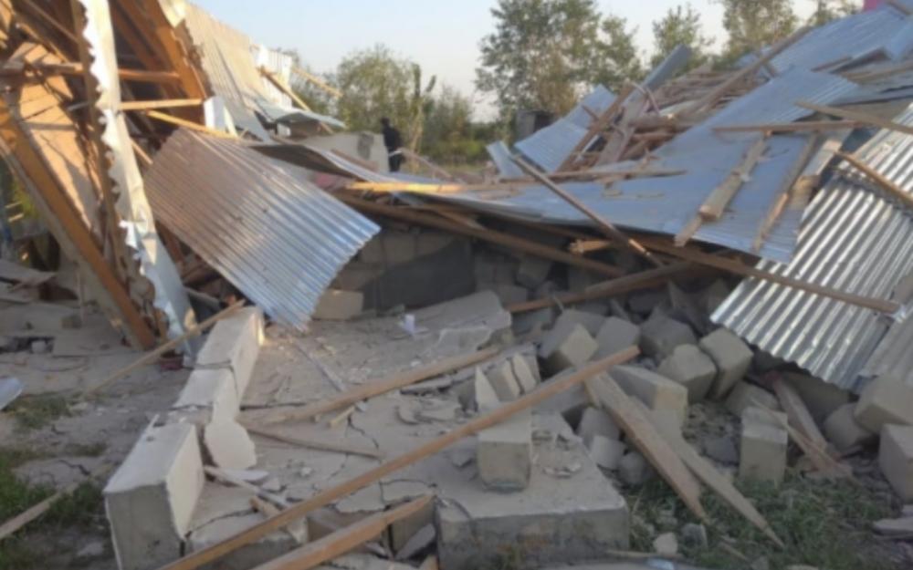 Erməni ordusu yaşayış məntəqələrini hədəfə aldı, yaralılar var -  Fotolar