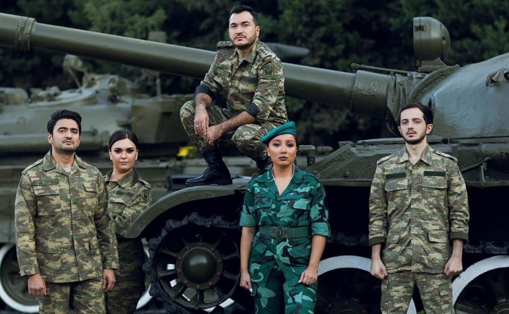 """""""Qarabağ Azərbaycandır"""" üçün bir araya gəldilər -  Video"""