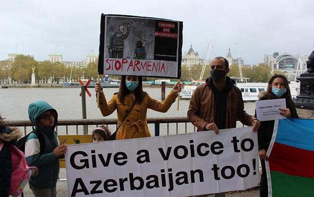Londonda erməni terrorunun qurbanları yad edildi -  Fotolar