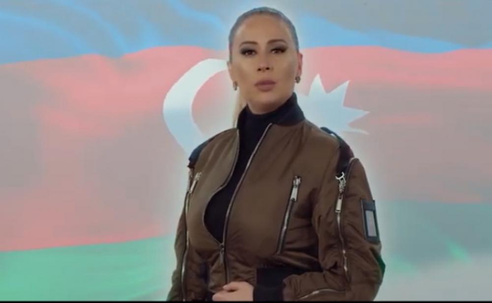 """""""Zəfərə doğru Azərbaycan""""la yaradıcılığımda bir ilk etdim"""" -  Roza Zərgərli"""