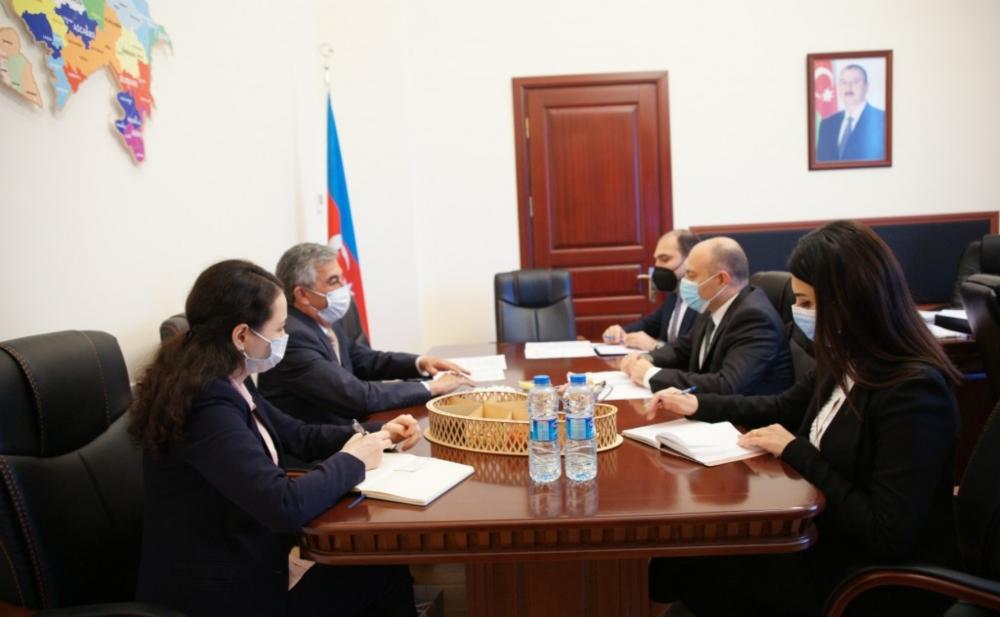 Anar Kərimov Tacikistan səfiri ilə görüşüb -   Fotolar