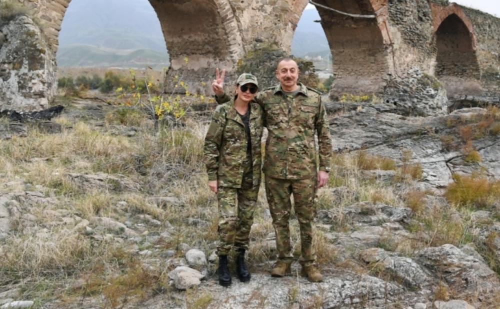 Prezident və xanımının Füzuli və Cəbrayıl səfərindən -  Fotolar