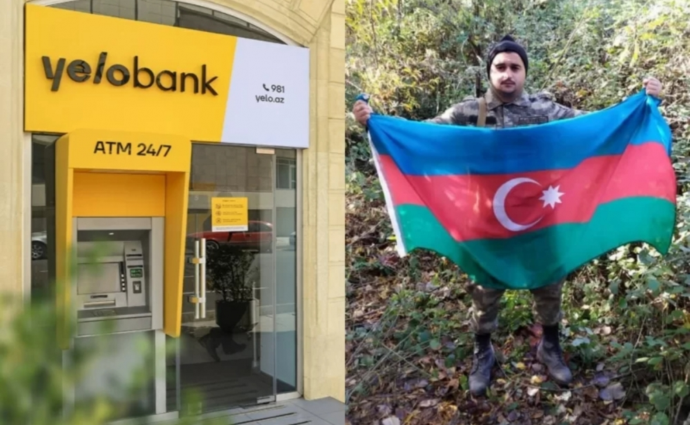 """""""Yelo Bank"""" ön cəbhədə olan əsgəri məhkəməyə verdi"""