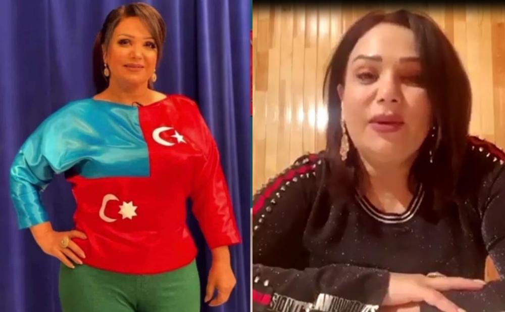 Mənzurə qalmaqallı geyimindən danışdı -  Video