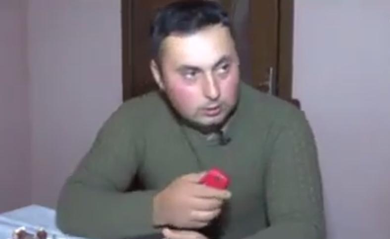 Qazini düşmən gülləsindən telefonu xilas edib -  Video