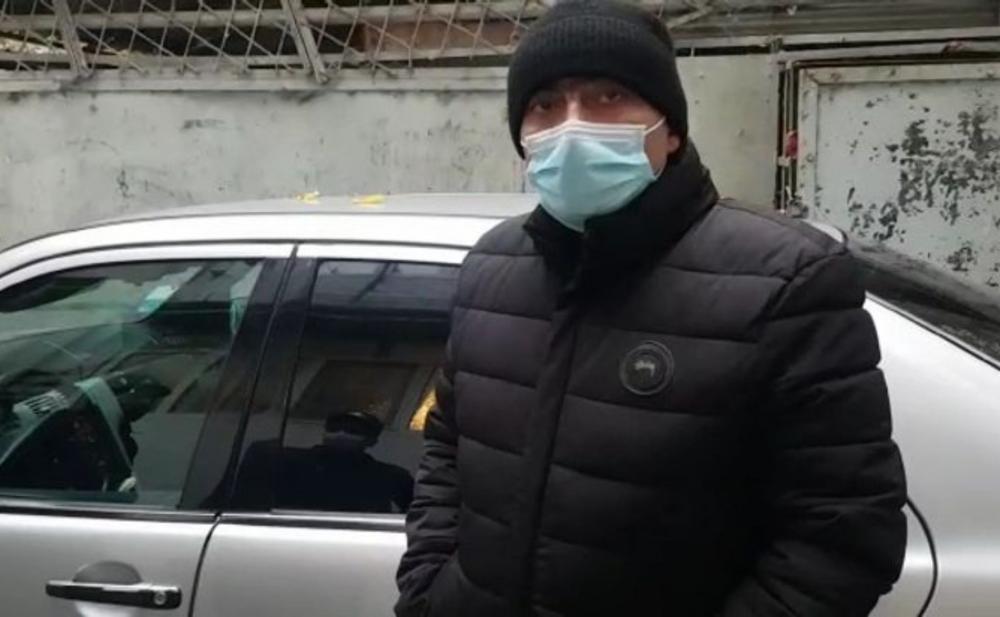 Taksi fəaliyyəti ilə məşğul olan COVİD-19 xəstəsi saxlanılıb - Fotolar