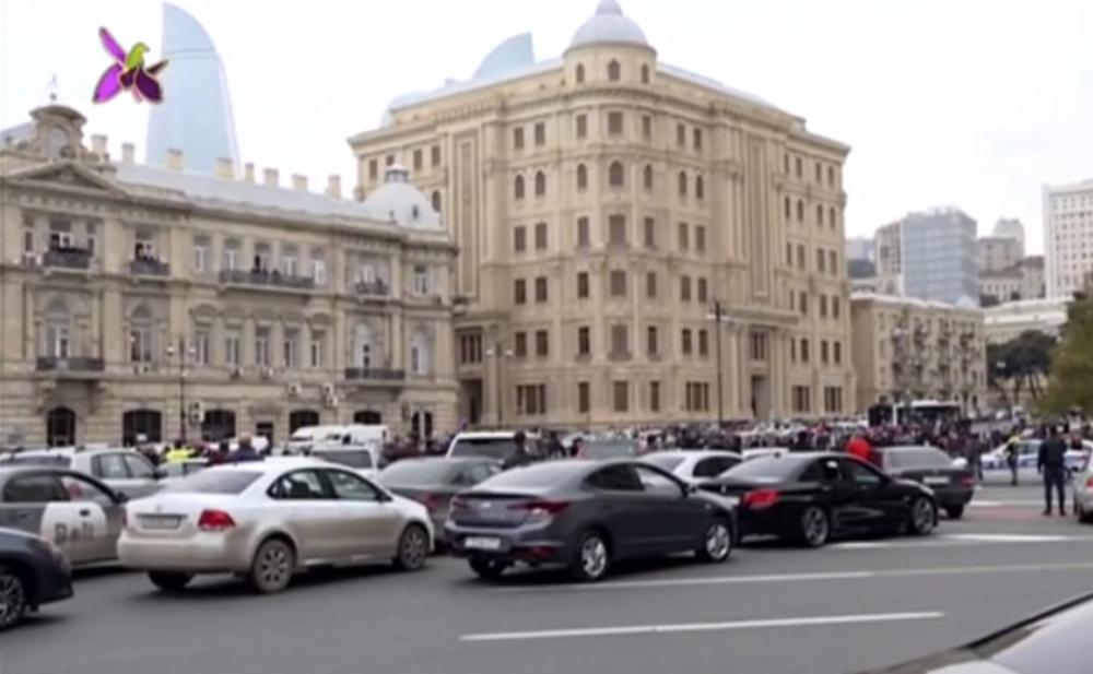 Azərbaycan şəhidlərini andı -  Video