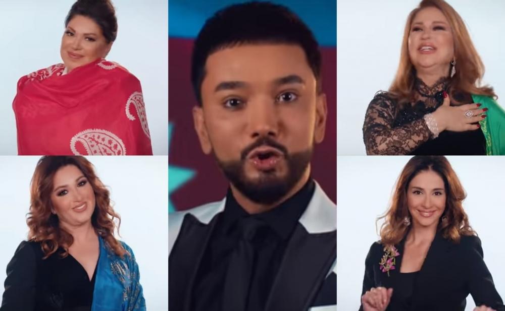 Faiq Ağayev onları bir araya yığdı - Video