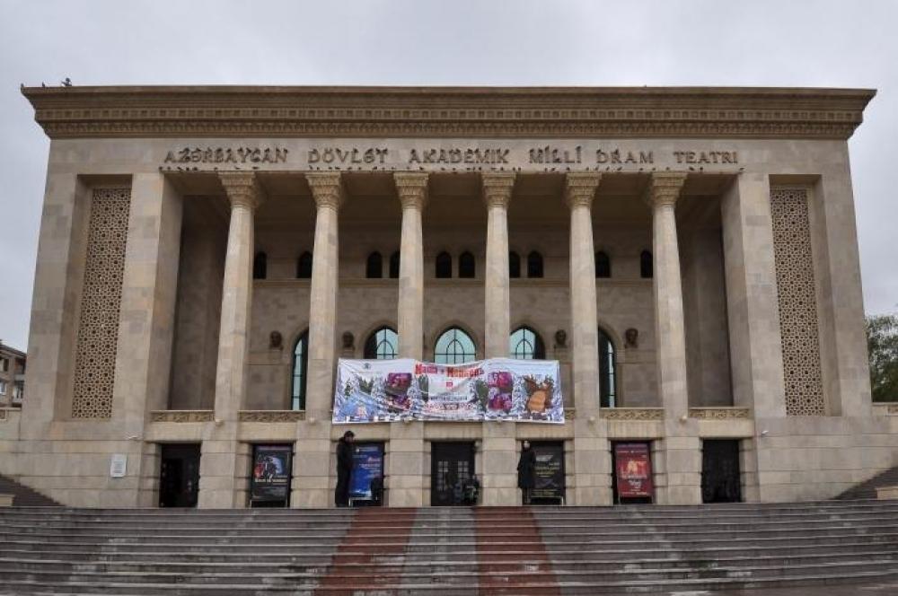 Milli Dram Teatrının yanvar repertuarı