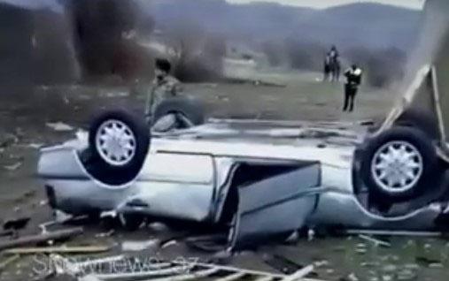 Hərbçi qardaşlar qəzaya düşdü, biri öldü