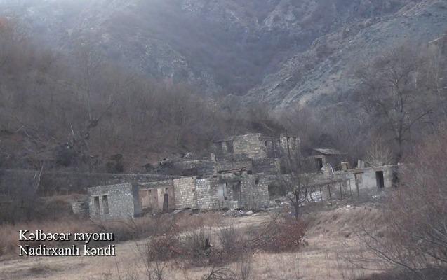 Kəlbəcərin Nadirxanlı kəndi - Video