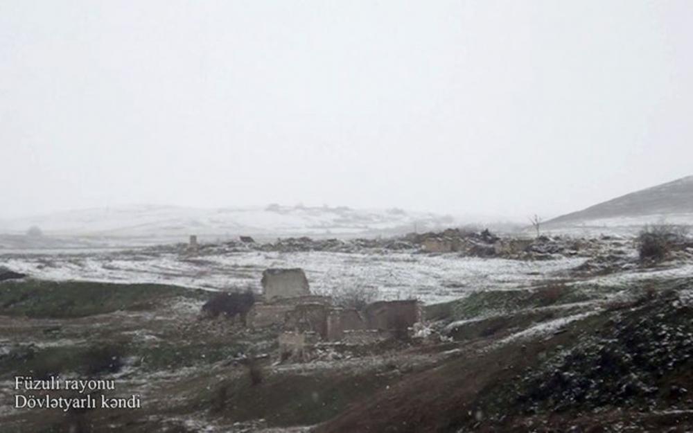 Füzulinin Dövlətyarlı kəndi - Video