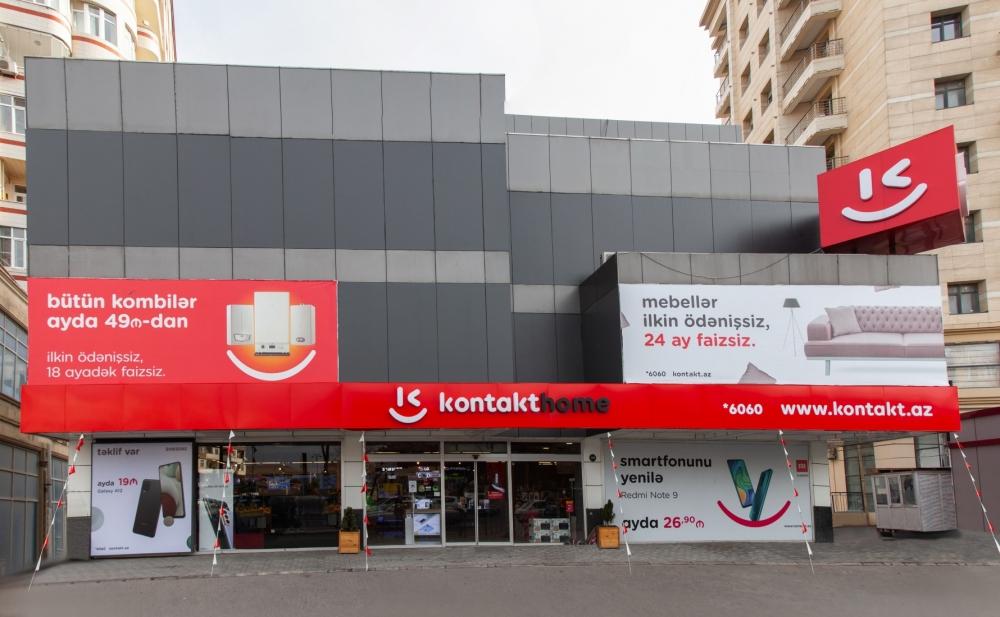 """""""Kontakt Home""""un 5 mağazası yeni formatda – Açılışa özəl 50%-dək endirimlər"""